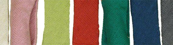 Stirnband Zopf und Schleife Biobaumwolle