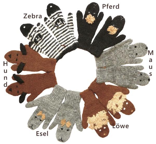 Kinderhandschuh Tier